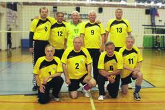 Žilinskí volejbaloví veteráni víťazne v Gliwiciach