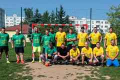 Futbalovým zápasom podporili myšlienku realizácie nových športovísk