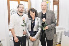 Galéria M oslávila 4. výročie výstavou Bachoríkovcov