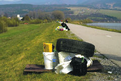 Žilina a Vodné dielo sú ľahšie o tony odpadu