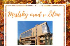 Mestský úrad v Žiline bude uzatvorený do stredy 21. októbra
