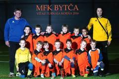 Úspešný týždeň mladých futbalistov Bytče