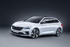 Atraktívny koncept Škoda Vision RS je predzvesťou nástupcu modelu Rapid
