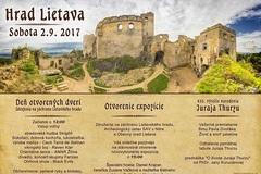 Deň otvorených dverí na hrade Lietava 2017 + otvorenie expozície
