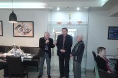 Bohuslav Behrík vystavuje vRestaurant Gallery