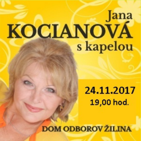 Jana Kocianová s kapelou