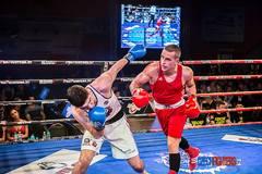 Patrik Glézl boxoval v Prahe víťazne