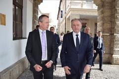 Prezident Slovenskej republiky navštívil Žilinu