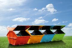 Rozmiestnenie veľkokapacitných kontajnerov pre zber objemných komunálnych odpadov v meste Žilina