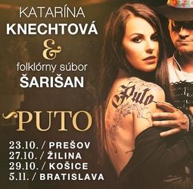 Katarína Knechtová a folklórny súbor Šarišan