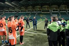 Vyvrcholenie súťaže Hľadáme futbalové talenty