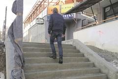Nové schody  na Hájiku sú vraj na zabitie