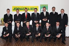 Jedenástka roka oblastného futbalu Žilina