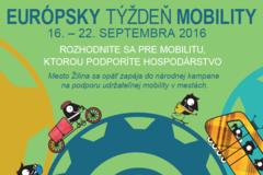Rozbieha sa kampaň Európsky týždeň mobility 2016 v Žiline
