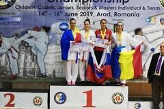Hrnková európskou šampiónkou v Shito Ryu karate