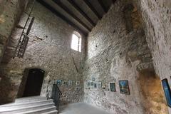 Reštaurovanie severného paláca na hrade Strečno