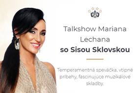 Sisa Sklovská v Talkshow Mariana Lechana