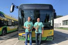 Toto sú majstri svojho remesla! Najlepší trolejbusári jazdia v Žiline