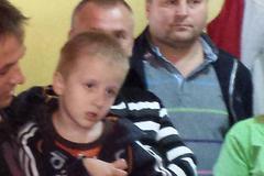 Štiavnickí futbalisti sa vyzbierali na liečbu malého Alexa