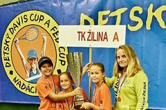 Žilinské tenistky vyhrali Detský Davis Cup