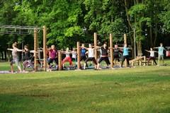Výtvarné utorky a cvičenie v parku: Pozrite atmosféru na FOTKÁCH