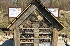Pri Veľkej Bytči vyrástol grandhotel pre hmyz, cieľom projektu je priblížiť svet hmyzu v jeho prirodzenom prostredí