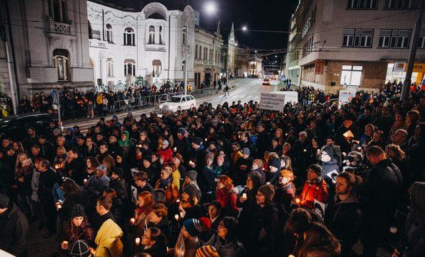 Žilina sa pridáva k zhromaždeniam Za slušné Slovensko