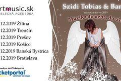 Vianočný koncert charizmatickej speváčky v Žiline: Szidi Tobias vystúpi aj so svojou kapelou