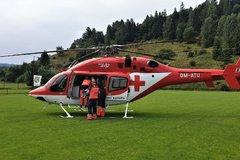 Nešťastie na Orave: Obarenému chlapčekovi letel na pomoc žilinský vrtuľník