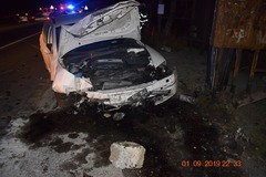 Nehoda v Brodne: Mladá vodička (23) nafúkala viac ako tri promile