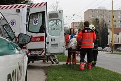 Výbuch zranil49-ročnéhoKarola