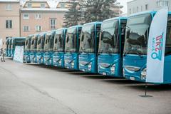 Na cesty vyrazilo dvadsať nových autobusov SAD Žilina