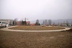 Práce na novom športovisku v Žiline pokračujú