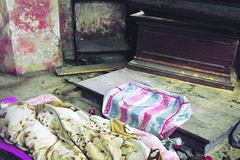 V kaplnke na Starom cintoríne našli striekačky