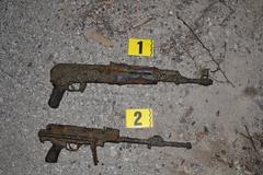 Vo vypustenom kanáli našli dve zbrane