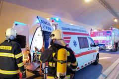 Tunel Ovčiarsko preverila dopravná nehoda