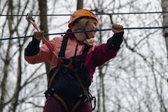 Nová adrenalínová lanovka v žilinskomlesoparku