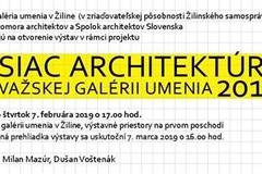 Mesiac architektúry v Považskej galérii umenia 2019