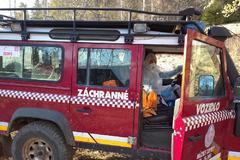 Akčná nedeľa v Malej Fatre pre horských záchranárov: dva úrazy dolných končatín