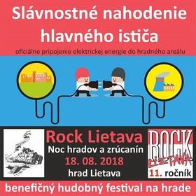 Rock Lietava 2018 - Noc hradných zrúcanín