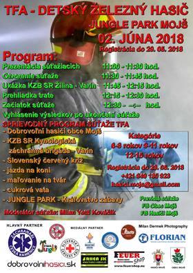 TFA - Detský železný hasič Mojš 2018