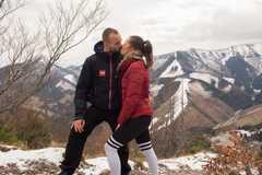 Valentínske pusinky žilinských športovcov: Lásku si prejavovali na rôznych miestach