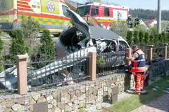 Obeťou nehody v Radôstke sa stalo 14-ročné dievča, v aute sa viezli ďalší traja mladí ľudia, FOTO