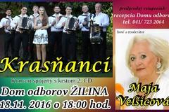 Krasňanci - koncert a krst CD
